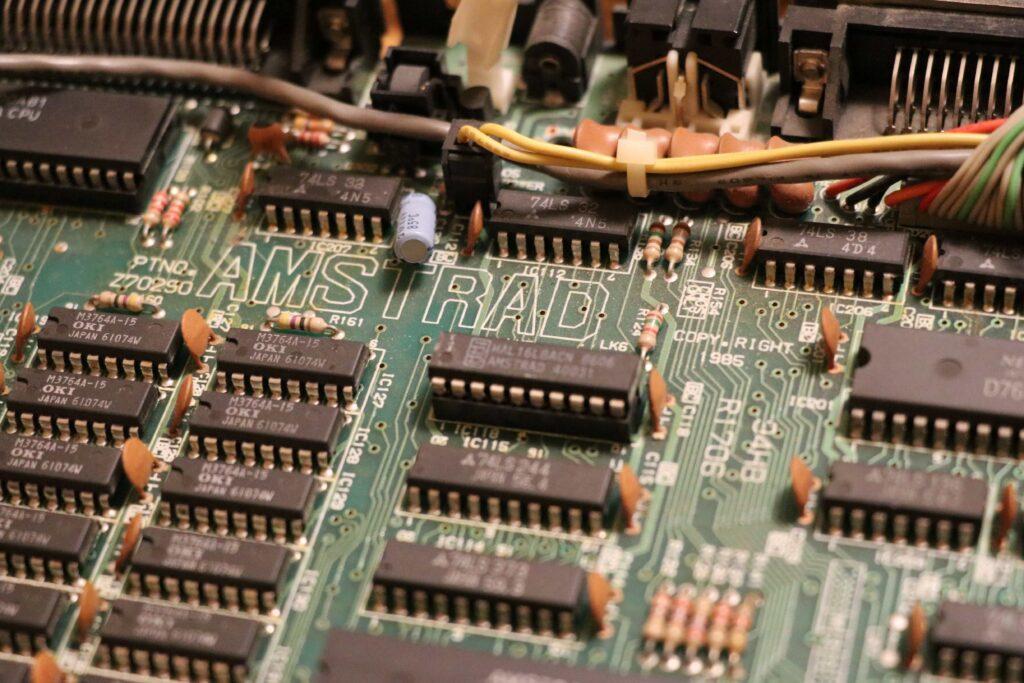 Amstrad CPC6128 mainboard